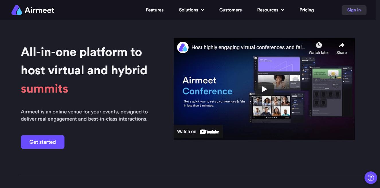 Airmeet webinar